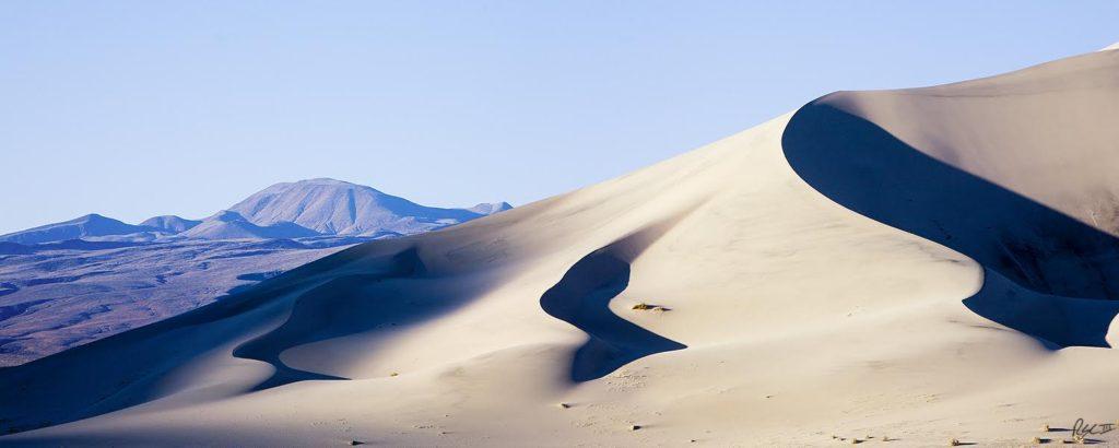 Eureka Dunes at Sunrise