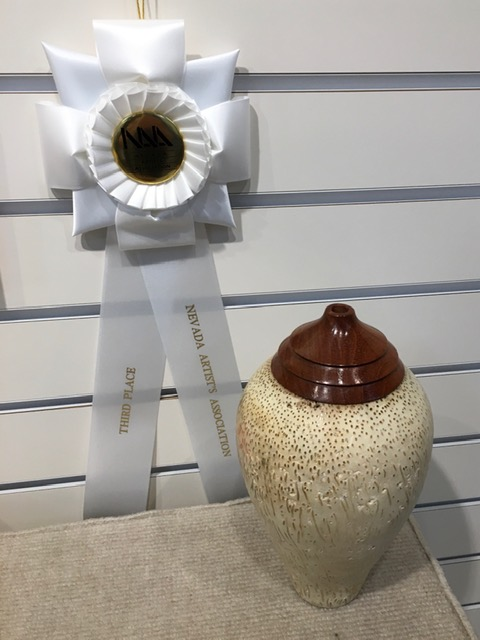 """""""Palm Wood Vase"""""""