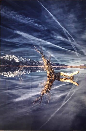 """Best of Show – """"Washoe Lake Reflections"""", photography by Lauren Arends"""