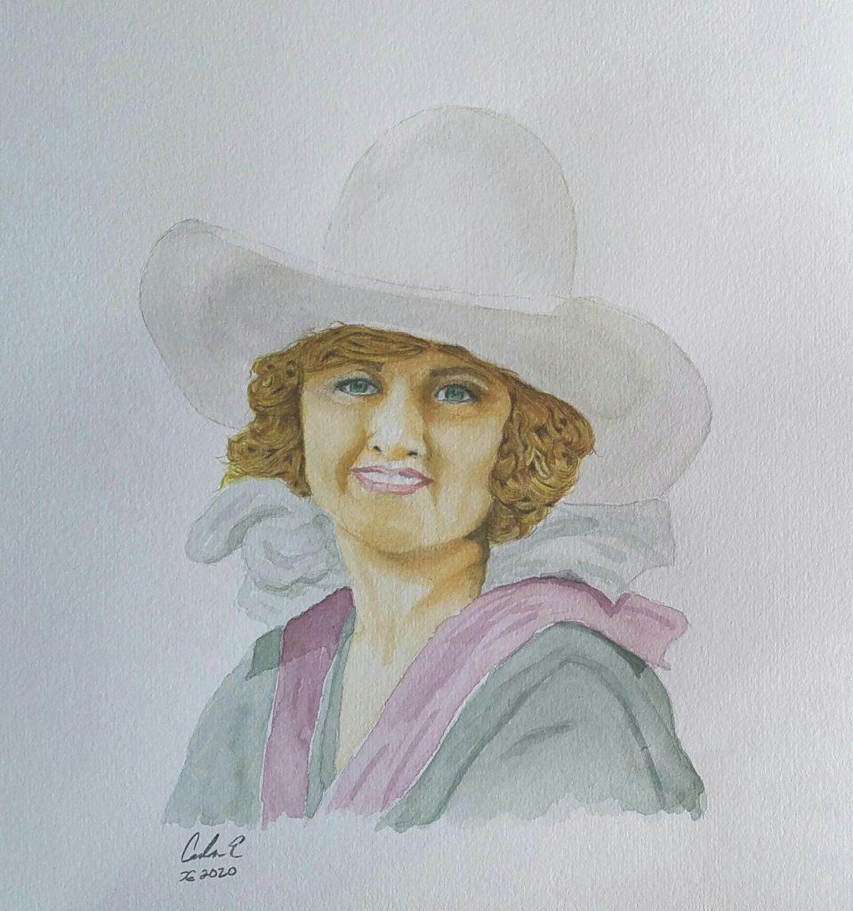 Portrait of Ruth Roach