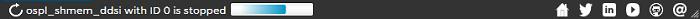 Vortex OpenSplice Launcher ospl_shmem_ddsi is stopped