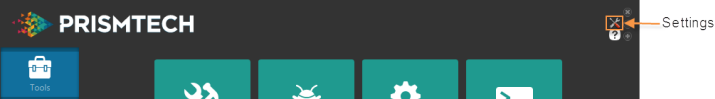 Vortex OpenSplice Launcher Settings