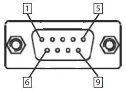 DB-9P COM Port