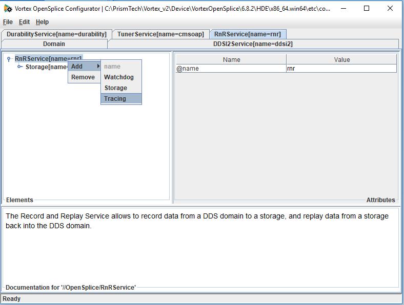 Adding tracing into the rnr service