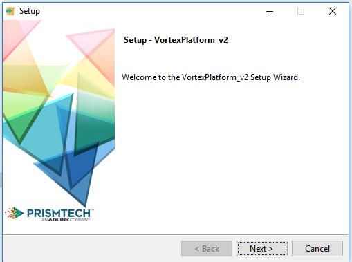 Vortex Platforms installer