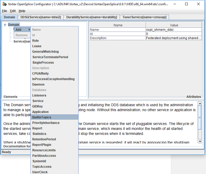 How to disable built-in topics using the opslconf tool