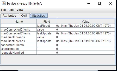 cmsoap statistics in tuner window