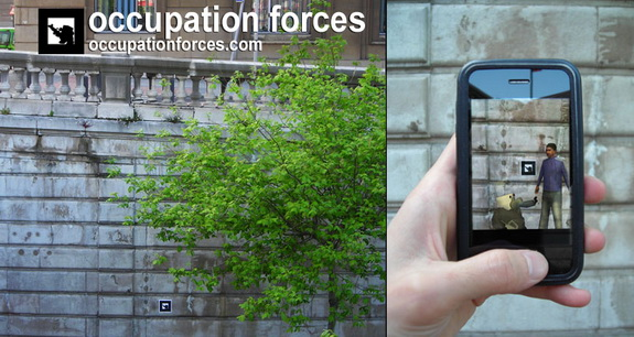 Occupation Forces Augmented Reality Project at Greenway Park