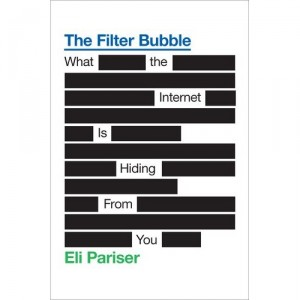 Book Cover for The Filter Bubble by Eli Pariser