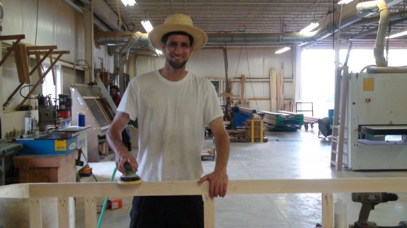In Pennsylvania, Daniel Seddiqui worked as a woodworker for an Amish-owned business Wolf Rock Furniture.
