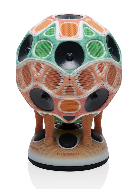 3D color printing speaker model