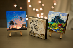Tiny paintings in UGallery Ornamental Artwork Collection