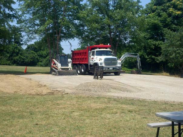 Carroll Bros. Contracting Pole Building Pad in Glen Burnie, MD