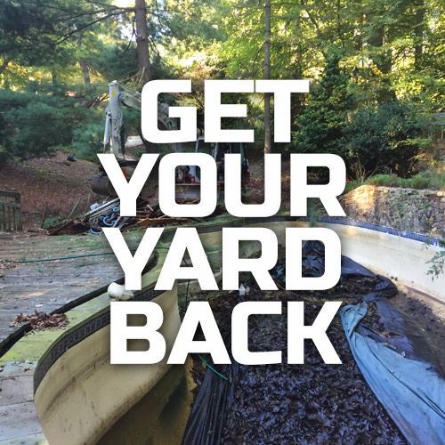 Get your yard back