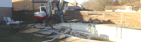 Pool Removal Safety Measures