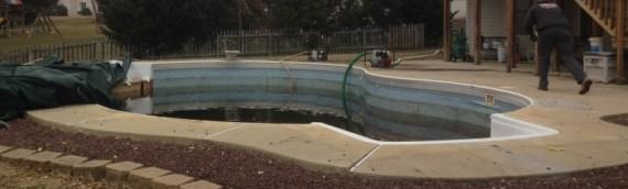 Elkridge Inground Pool Removal