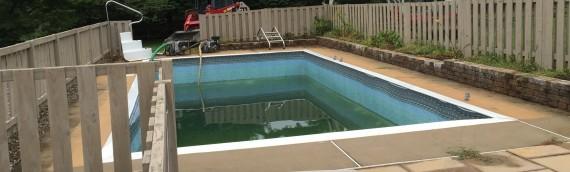 Stevensville Pool Removal