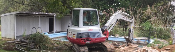 Pool Removal in Ellicott City