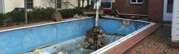 Bethesda Pool Removal