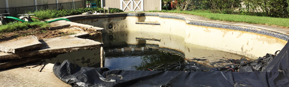 Severn Swimming Pool Removal
