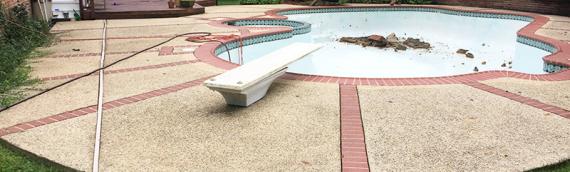 Silver Spring Pool Removal
