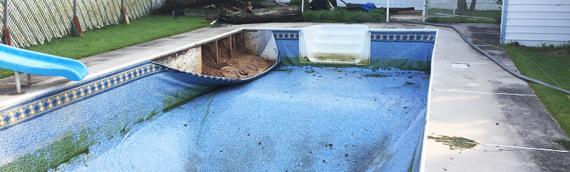 Rosedale Pool Removal