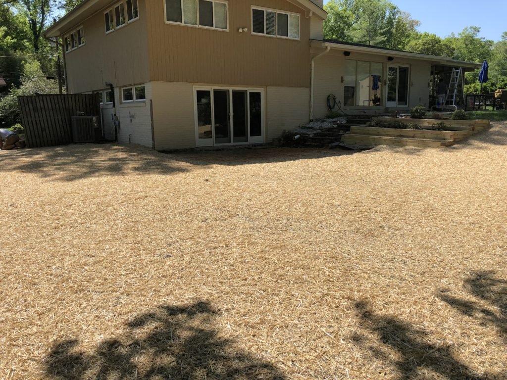 After Concrete Pool Removal in Bethesda Maryland