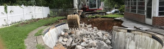 Concrete Pool Removal in Jessup Maryland