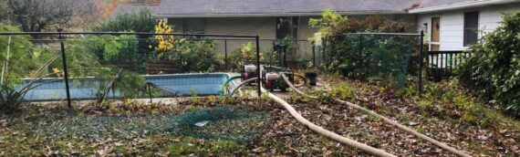 Vinyl Liner Pool Removal in Chesapeake City Maryland