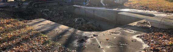 Vinyl Liner Pool Removal in Stevensville Maryland