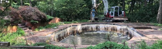 Concrete Pool Removal in Clarksville Maryland