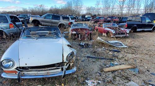 Airway Auto Parts junk yard in Battle Creek, MI