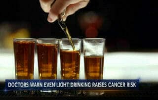 Alcohol Increases tooth disease