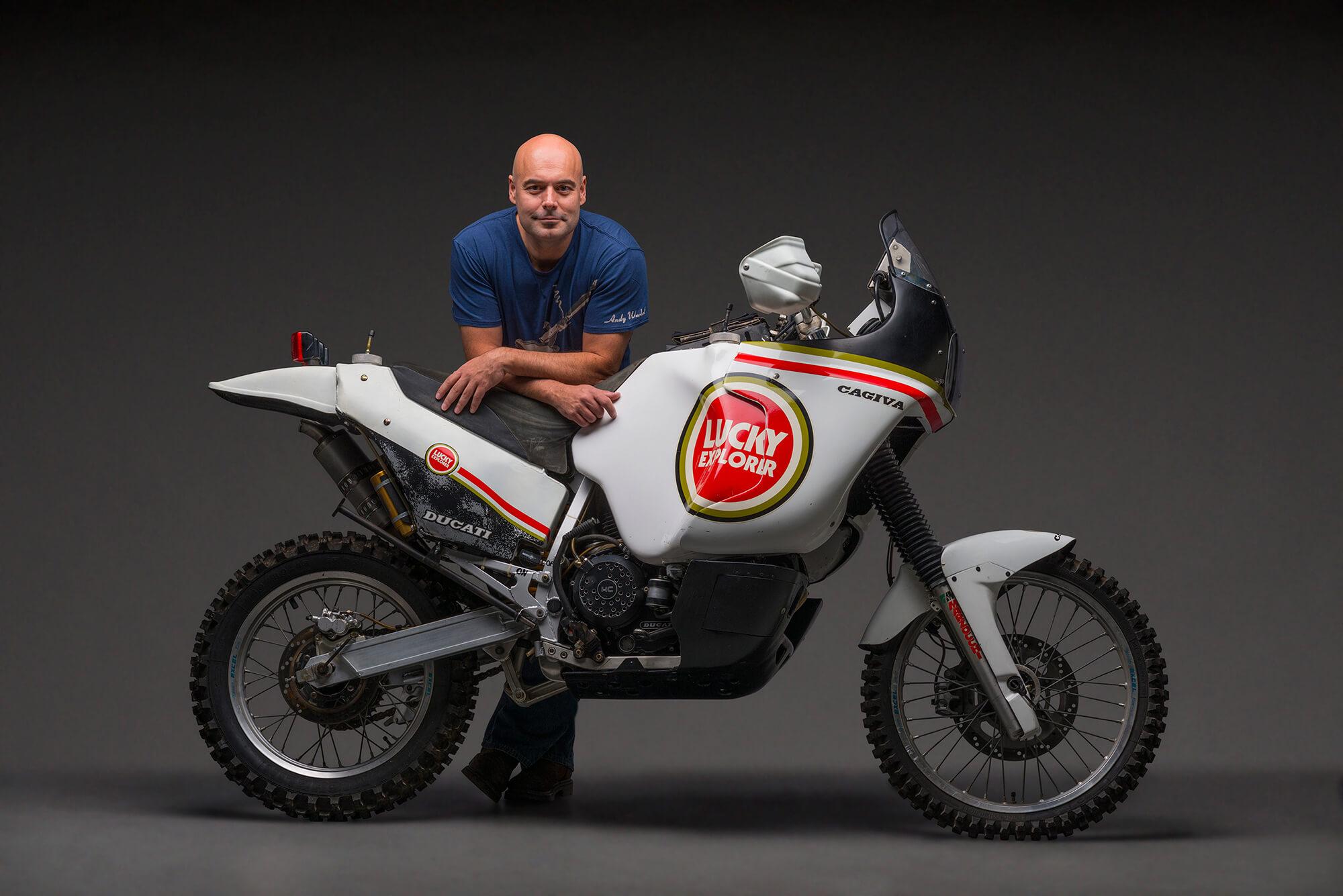 Bike Collector Paris Dakar Bike