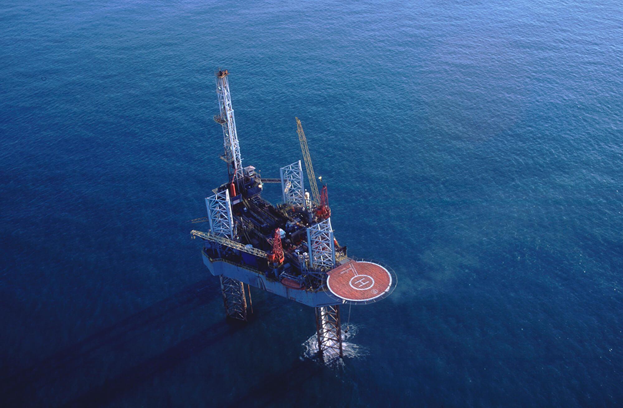 Offshore Oil Platform Jackup Workover Rig