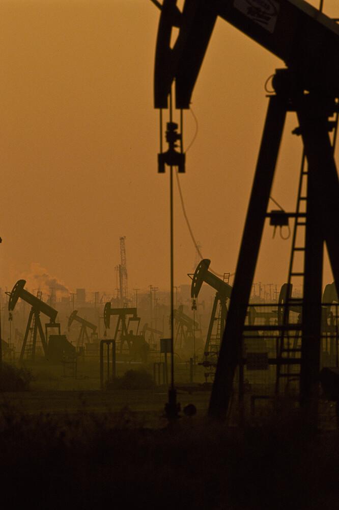 Oil Rich Bakersfield California