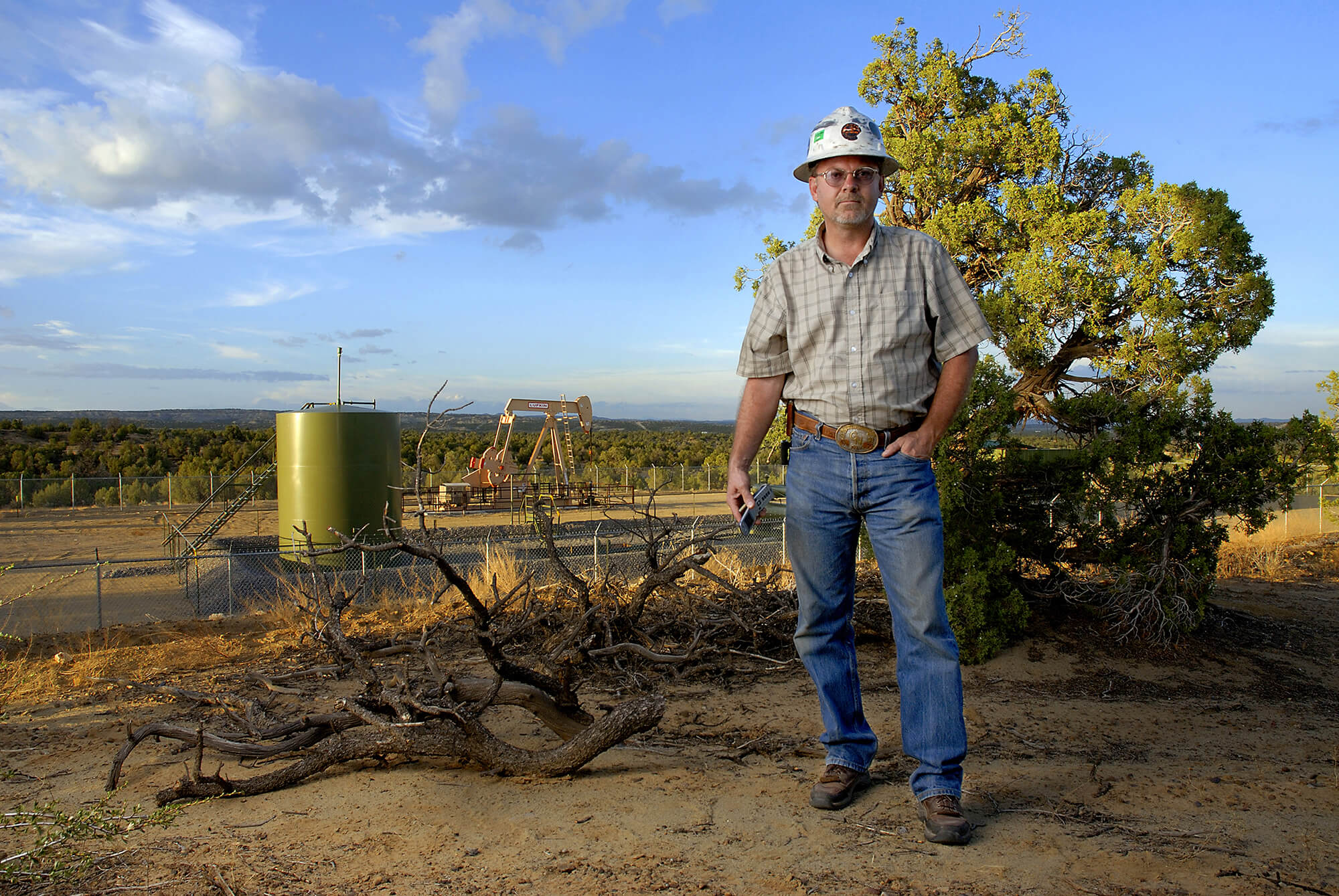 Oilfield Hand New Mexico