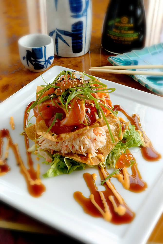 Sushi Crab Meat & Tuna