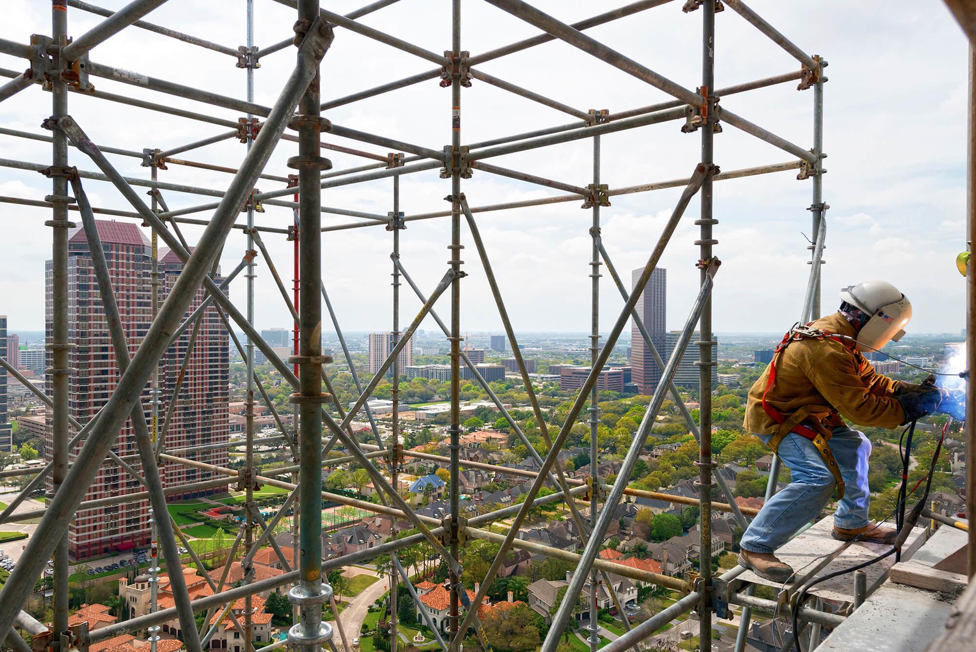 welder 24 stories up