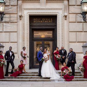 Real Weddings   Tolu & Emerald   Modern Luxury Weddings Washington DC
