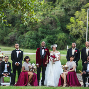 Harlem Renaissance-Inspired Fall Wedding with Modern Luxe Elegance   David & Sophia