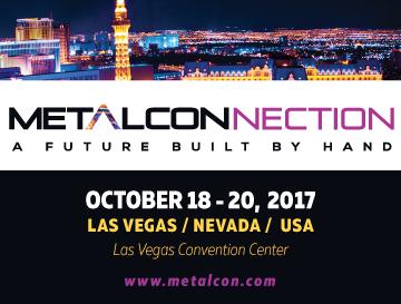 METALCON – October 18-20, 2017