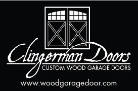 Clingerman Custom Wood Garage Doors | TK Ventures LLC | Westminster, MD