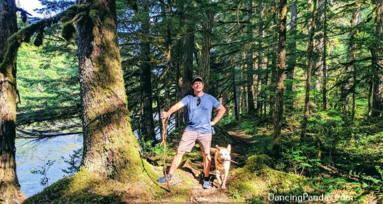 Hiking in Kitimat British Columbia