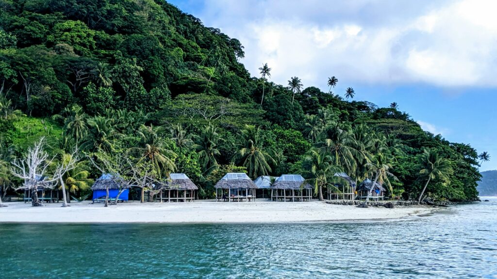 Namua Island Beach Fales