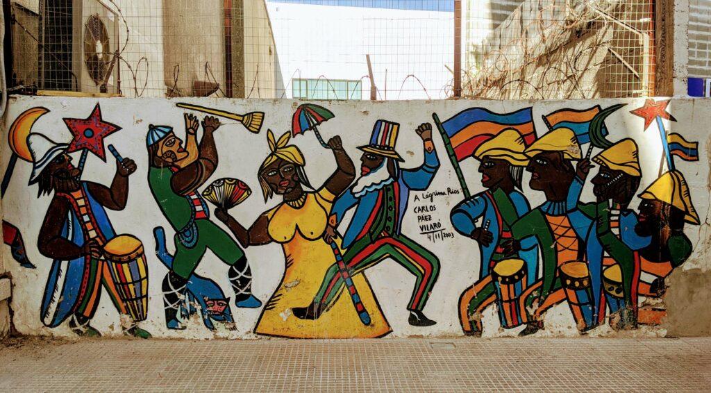 Carlos Paez Vilaro Street Art Ciudad Vieja