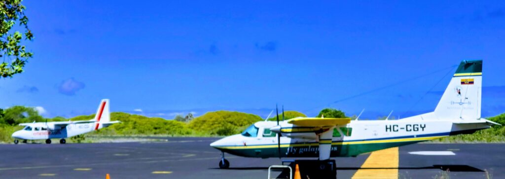 Flights in Galapagos can be on a budget