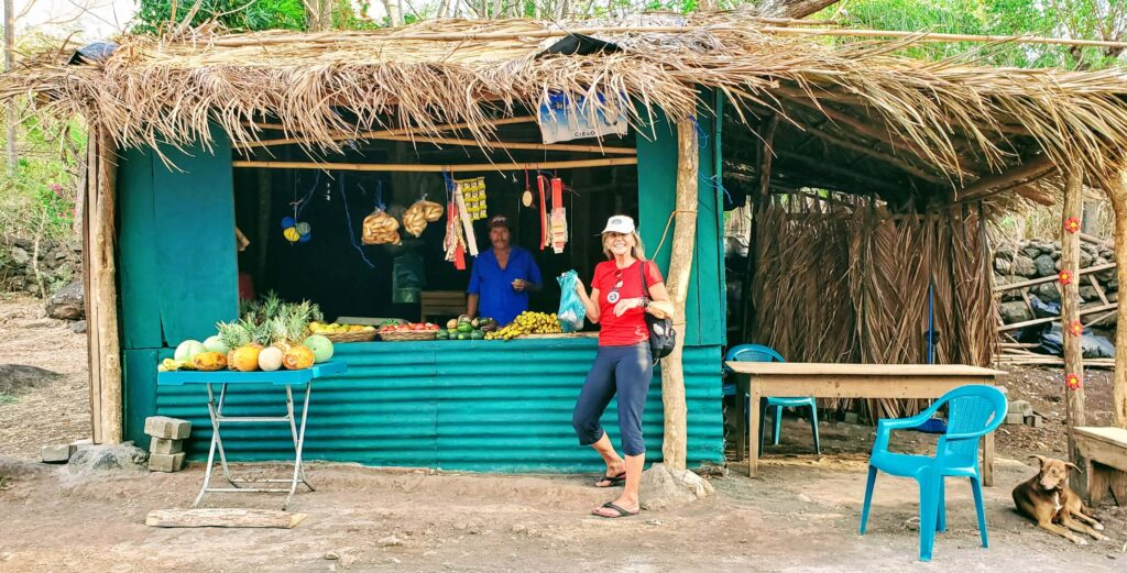 Grocery Store outside of El Pital Cholcolate Paradise - Affordable Paradise on Ometepe