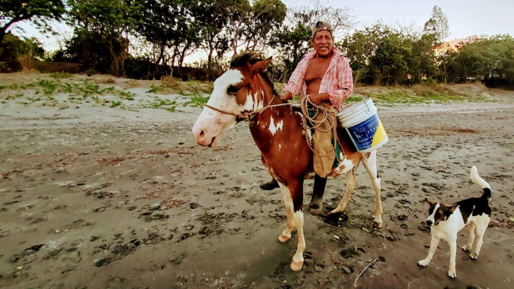Locals on the Beach - Affordable Paradise on Ometepe