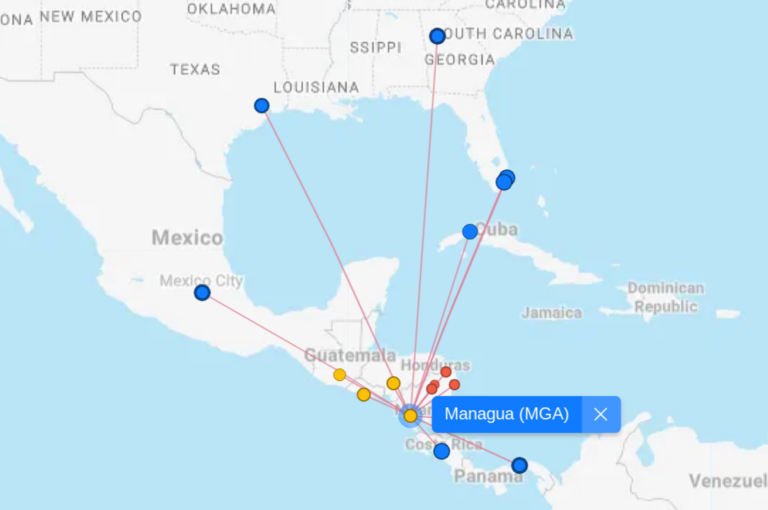 Flight Connections/MGA-Using AAdvantage Miles To Get Home Due To Covid-19